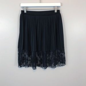 Philosophy | Women's Black Lace Skirt XS